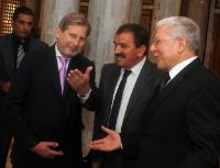 Visite de Johannes Hahn, membre de la CE, en Tunisie