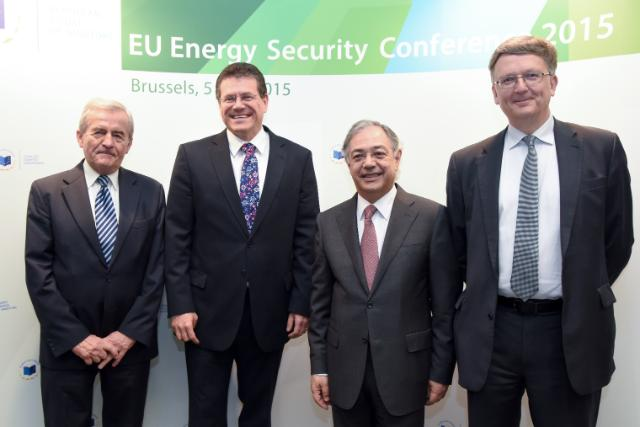 Participation of Maroš Šefčovič, Vice-President of the EC, in the EU Energy Security Conference 2015