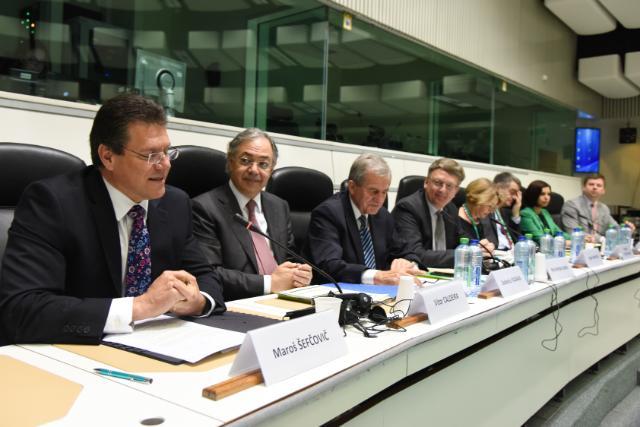 Participation of Maroš Šefčovič, Vice-President of the EC, in the EU Energy Security Conference 2015