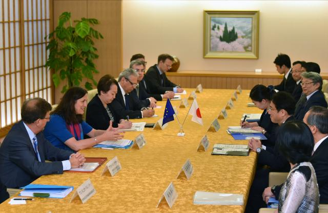 Visit by Cecilia Malmström, Member of the EC, to Japan