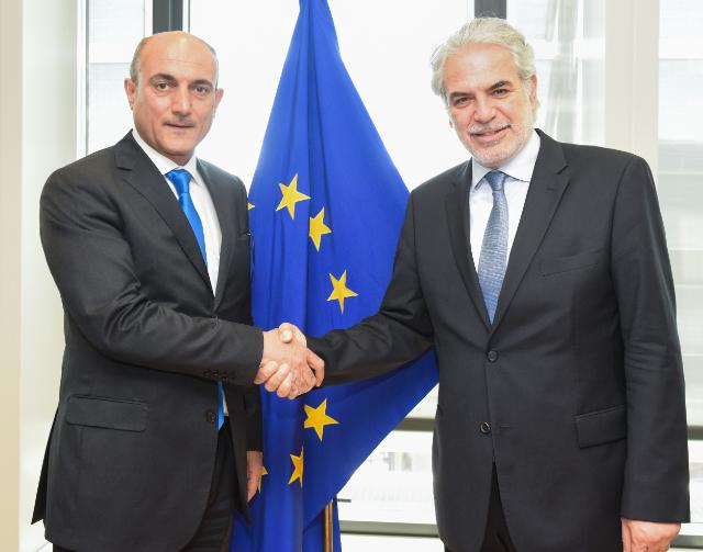 Visit of Ali Sindi, Minister for Planning of the Kurdistan Regional Government, to the EC