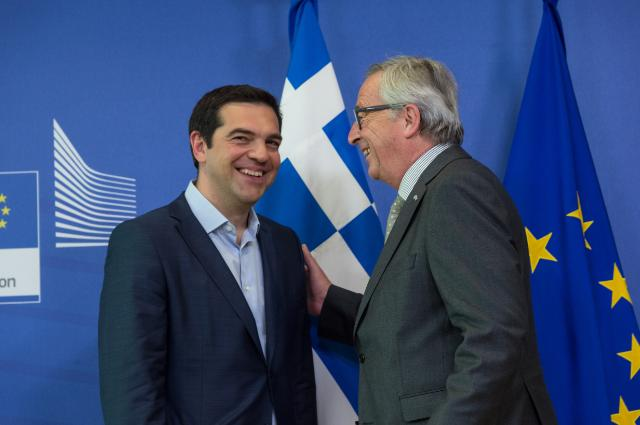 Visit of Alexis Tsipras, Greek Prime Minister, to the EC