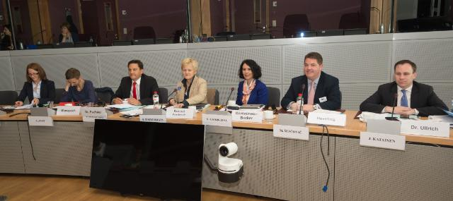Visit to the EC of Members of the Legal Affairs and Consumer Protection Committee of the German Bundestag