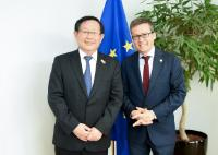 Visit of Wan Gang, Chinese Minister for Science and Technology, to the EC