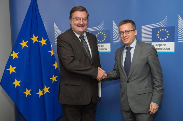 Visit of Carlos Silva, Secretary General of the Portuguese Trade Union 'UGT', to the EC