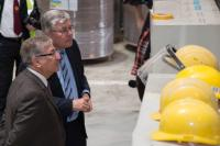 Visit by Karmenu Vella, Member of the EC, to the Stora Enso pulp and paper mill