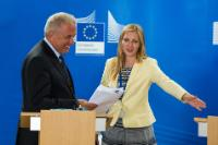 Press conference by Dimitris Avramopoulos, Member of the EC, on the European Agenda on Migration