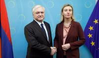 Visite d'Edward Nalbandian, ministre arménien des Affaires étrangères, à la CE