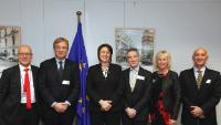 Visite de représentants de CLIA Europe à la CE