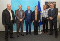 Visit of members of the Tunisian National Dialogue Quartet, 2015 Nobel Peace Prize ® Laureate, to the EC