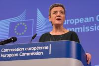 Press conference by Margrethe Vestager, Member of the EC, on EU state aid rules in the steel sector and Commission state aid decisions concerning Duferco in Belgium and Ilva in Italy