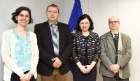 Visite de membres de la Plate-forme Justice pénale Europe à  la CE