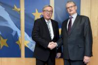 Visit of Mogens Lykketoft, President of the 70th session of the United Nations General Assembly, to the EC