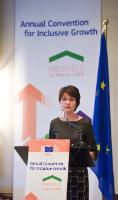 Participation of Marianne Thyssen, Member of the EC, in the Annual Convention for Inclusive Growth 2016