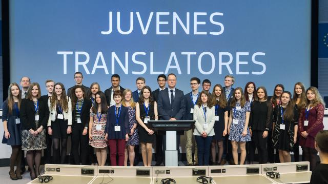 Award ceremony of the 'Juvenes Translatores' 2016 translation contest, with the participation of Tibor Navracsics, Member of the EC