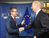 Visit of Marijn Dekkers, Chairman of the Board of Management of the Bayer AG Group, to the EC