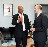 Visit of Bob Richards, Bermudian Deputy Prime Minister and Minister for Finance, to the EC