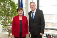 Visit of Johannes Singhammer, Vice-President of the German Bundestag, to the EC