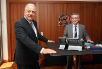 Visit of Dimitris Avramopoulos, Member of the EC, to Berlin
