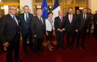 Visit of Jean-Claude Juncker, President of the EC, to Strasbourg