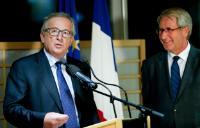 Visit of Jean-Claude Juncker, President of the EC, to Strasbourg