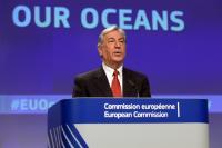 Conférence de presse de Karmenu Vella, membre de la CE, sur la gouvernance internationale des océans