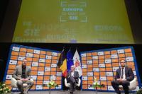 Dialogue avec les citoyens à Saint-Vith avec Jean-Claude Juncker, président de la CE