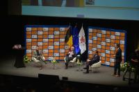 Citizens' Dialogue in St. Vith with Jean-Claude Juncker, President of the EC