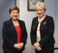Visit of Heather Humphreys, Irish Minister for Arts, Heritage and Regional, Rural and Gaeltacht Affairs, to the EC