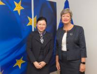 Visit of Ylva Johansson, Swedish Minister for Employment, to the EC