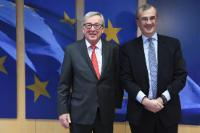 Visit of François Villeroy de Galhau, Governor of the Bank of France, to the EC