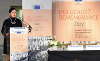 Participation de Vĕra Jourová, membre de la CE, à la Journée internationale de commémoration de l'Holocauste