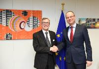 Visit of Paolo Petiziol, President of Mitteleuropa, to the EC