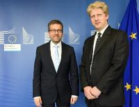 Visit of Jo Johnson, British Minister of State for Universities, Science, Research and Innovation, to the EC