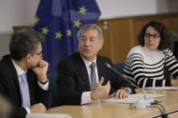 Visit of Karmenu Vella, Member of the EC, to Italy