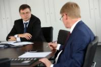 Visit by Valdis Dombrovskis, Vice-President of the EC, to Germany