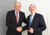 Visite de Sándor Pintér, ministre hongrois de l'Intérieur, à la CE