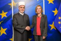 Visit of Husein Kavazović, Grand Mufti of Bosnia and Herzegovina, to the EC
