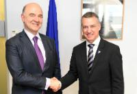 Visit of Iñigo Urkullu, Lehendakari of the Basque regional Government, to the EC