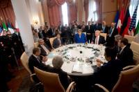 Sommet du G7 à Taormina, Italie