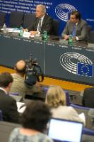 Press conference by Dimitris Avramopoulos, Member of the EC