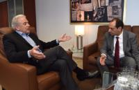 Visit of Christos Spirtzis, Greek Minister for Infrastructure, Transport and Networks, to the EC