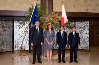 Visit of Cecilia Malmström and Phil Hogan, Member's of the EC, to Japan