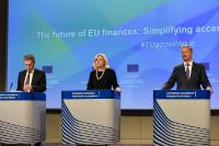 Press conference by Günther Oettinger, Corina Creţu, Members of the EC, and Siim Kallas, Chairman of the High Level Group of Independent Experts on Monitoring Simplification for Beneficiaries of the European Structural and Investment Funds (ESI Funds)