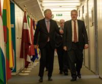 Visite de Carwyn Jones, Premier ministre du Pays de Galles, à la CE