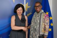 Visit of Sandie Okoro, Senior Vice-President and General Counsel for the World Bank Group, to the EC.