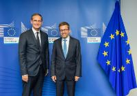 Visit of Michael Müller, Governing Mayor of Berlin, to the EC