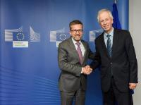 Visite de Stéphane Dion, envoyé spécial du Canada auprès de l'UE et de l'Europe, à la CE
