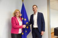 Visit of Kostas Bakoyannis, Governor of the Region of Central Greece, to the EC.