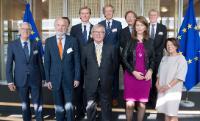 Visite de Membres du Comité des Affaires européennes du Sénat néerlandais, à la CE
